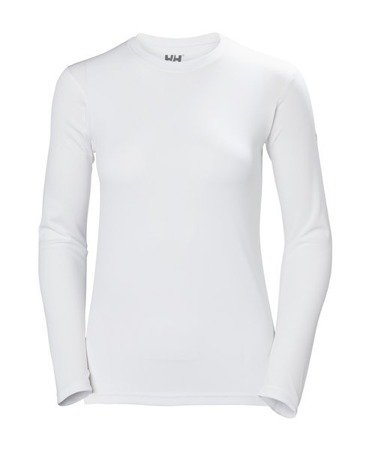 KOSZULKA HELLY HANSEN W HH TECH CREW 48374 001 WHITE