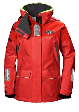 KURTKA DAMSKA HELLY HANSEN  W SKAGEN OFFSHORE JACKET 33920  222 RED