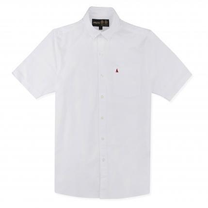 Koszula męska MUSTO AIDEN OXFORD 80685 WHITE