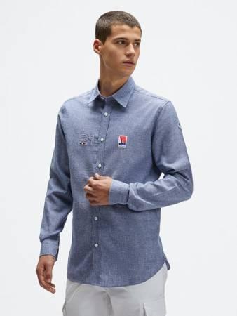 Koszula męska NORTH SAILS  LINEN SHIRT 4533 0802
