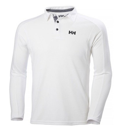 Polo HELLY HANSEN HP SHORE LS RUGGER 53021 białe