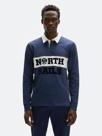 Polo NORTH SAILS IN HEAVYWEIGHT COTTON JERSEY