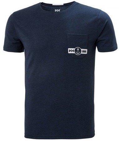 T-shirt męski HELLY HANSEN FJORD 53025 593