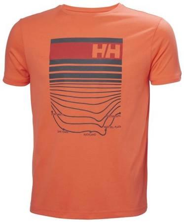 T-shirt męski HELLY HANSEN SHORELINE 30354 305